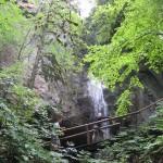 Wasserfall in der Nähe unserer Wohnung