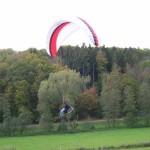 ... und Landung