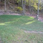 Neuer Rasen am Startplatz