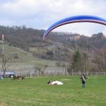 Zack und Landung ... Windstille