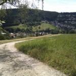 Der Weg zum Dorf