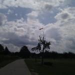 Wind passte ... später drehte er auf Süd