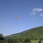 Fritz beim Landeanflug