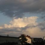 Amboss über dem Odenwald
