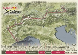 Red Bull X-Alps Route 2013