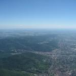 Flugweg nach Heidelberg