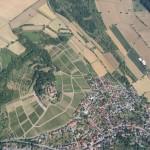 Über der Burg in Sinsheim